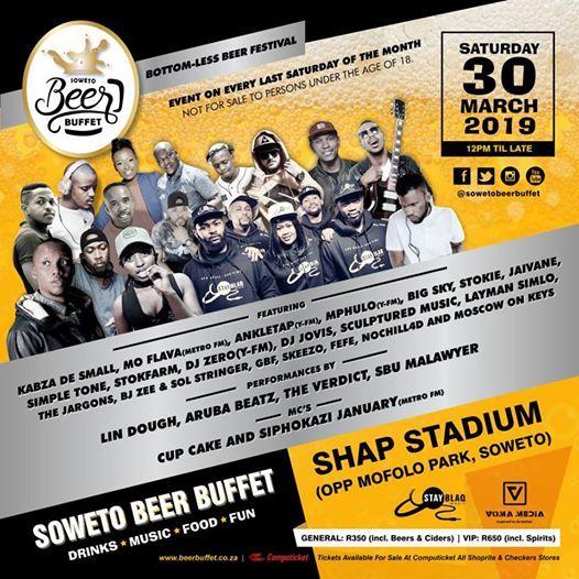 Soweto beer buffet Festival