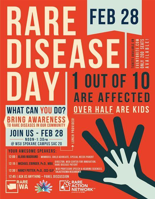 Rare Disease Day Spokane 2019 At Wsu Riverpoint Campus Washington