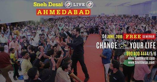 Free Change Your Life 1st Seminar Ahmedabad