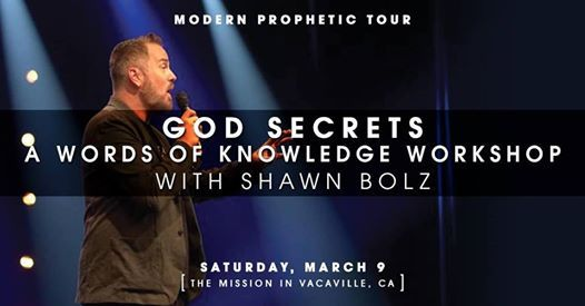 Modern Prophetic Tour 2019 God Secrets Words of Knowledge Event