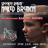 Naked Brunch - feat. special guest Rachel Haden