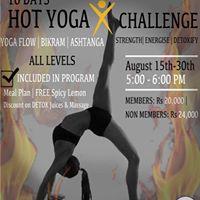 HOT Yoga X Challenge