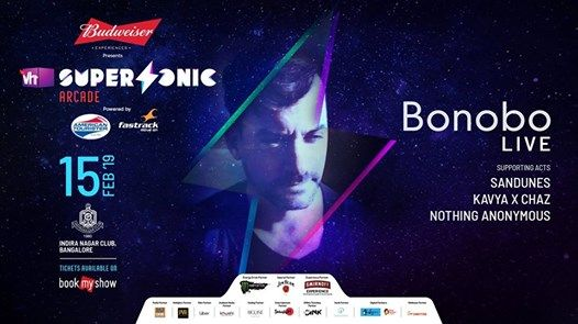 Vh1 Supersonic Arcade ft. Bonobo LIVE