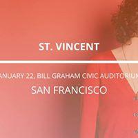 St. Vincent in San Francisco