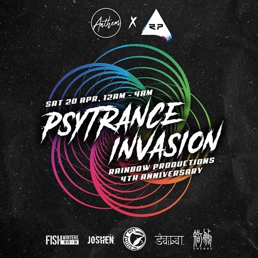 Rainbow Productions 4th Anniversary CQ PsyTrance Invasion