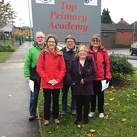 Leeds Labour group campaigning in Ardsley and Robin Hood