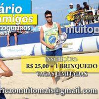 Torneio de Beach Tennis Solidrio Entre Amigos