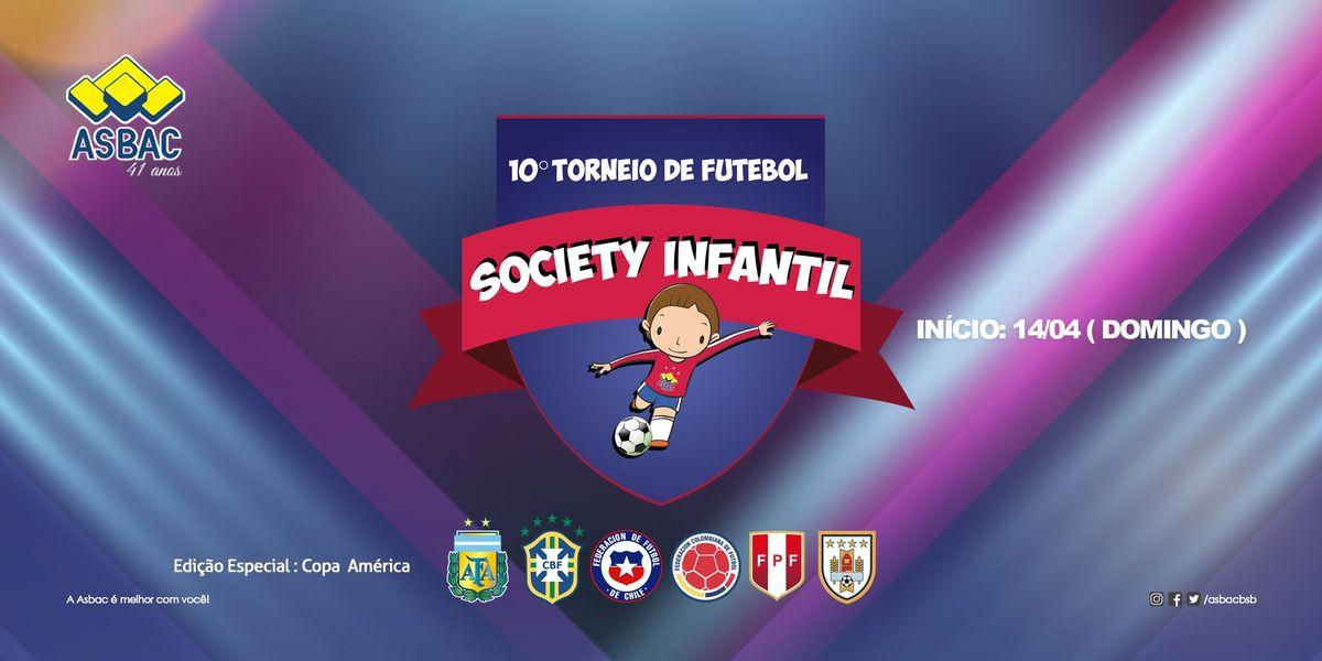 10 Torneio de Futebol Society Infantil da Asbac