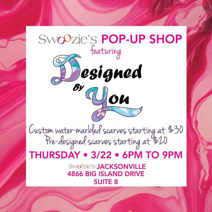 Designed by You Pop Up Shop Swoozies Jax