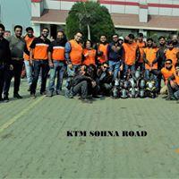 KTM Sohna Road Rewari 1St Anniversary Ride