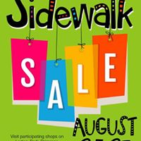 Bi-Annual Sidewalk Sale