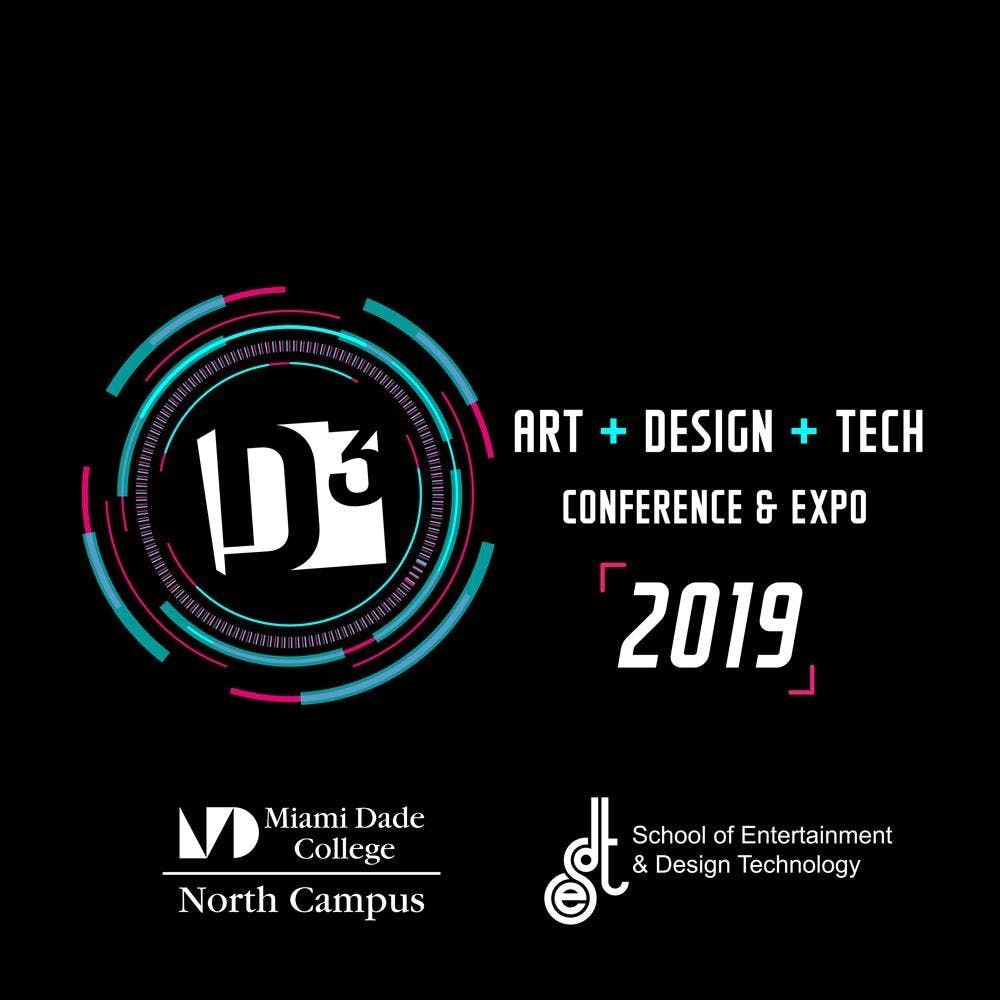 D3 - 2019 | Art+Design+Tech Conference at Miami Dade College
