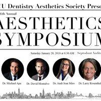 NYU Dentistry 6th Annual Aesthetics Symposium