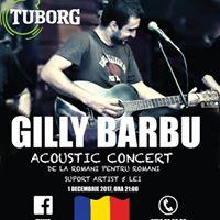 GILLY BARBU-acoustic concert