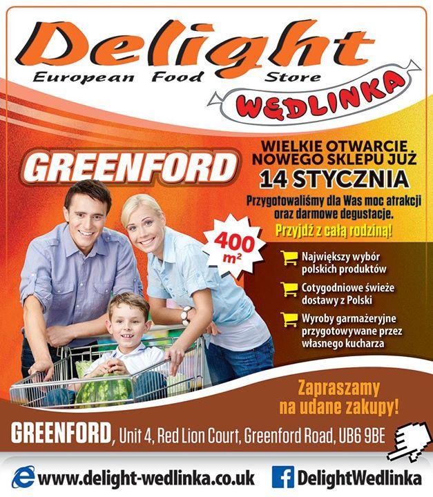 Otwarcie Delight Wedlinka Greenford