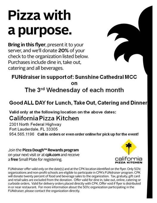 Sunshine Cathedral Day at CPK
