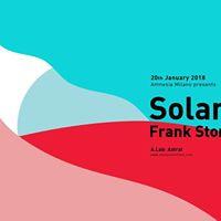 Solardo Sessions Milan  Frank Storm