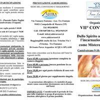VII Convegno Dallo Spirito alla materia lincarnazione umana c