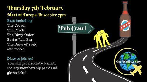 Refreshers Belfast City Pub Crawl