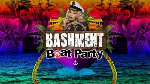 Bashment Boat Party Down The Thames