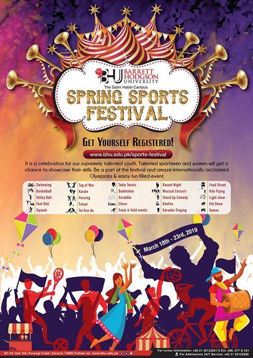 BHU Spring Sports Festival 2019