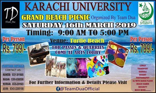 KU Grand Beach Picnic