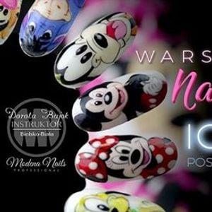 Warsztaty Nail Art Icon Nails - Postacie Bajkowe