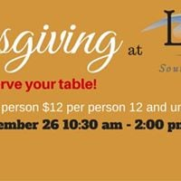 Thanksgiving at La Brisa Restaurant