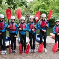 Young Paddlers River Hamble Touring Trip