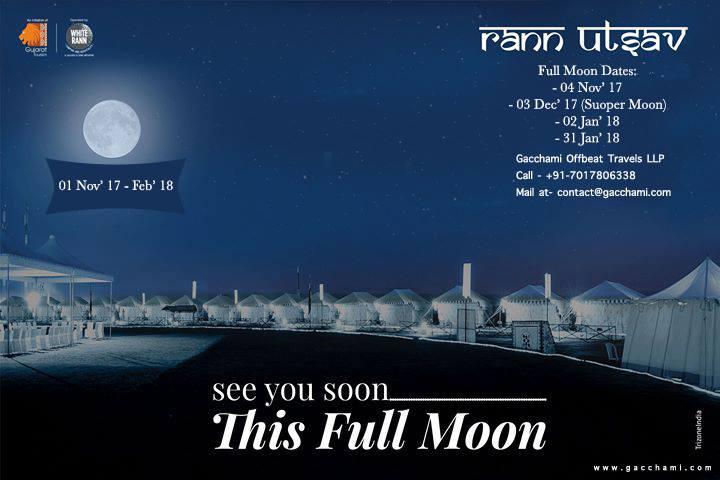 Super Full Moon Rann Utsav - Gujarat
