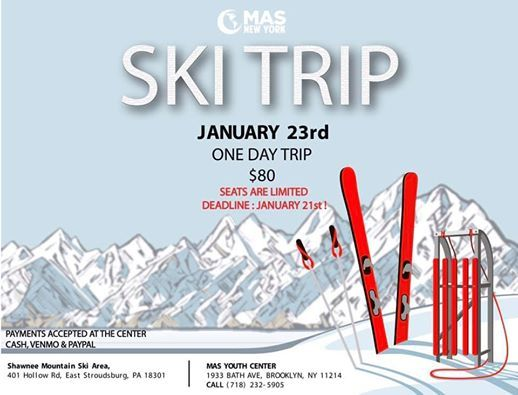 MAS Youth Ski Trip