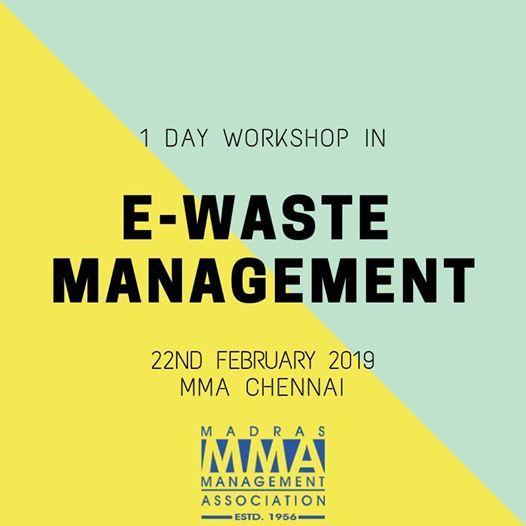 1 Day Workshop on E-Waste Management