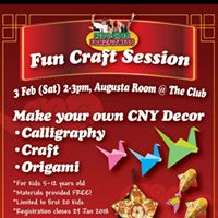 Fun Craft Session