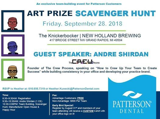 ArtPrize Scavenger Hunt at New Holland Brewing The