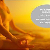 Die Kunst der Meditation &quotSahaj Samadhi&quot mit Swami Jyothirmayah