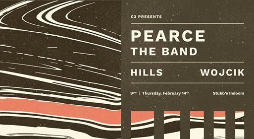 Pearce The Band w Hills and Wojcik at Stubbs Indoors