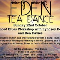 Eden Workshop and Tea Dance with Lyndsey and Ben - Sun 22nd Oct