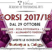 Presentazione Corsi Burlesque &amp Cabaret Verona 201718