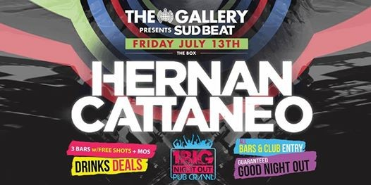 The Biggest Ministry of Sound Pub Crawl - The Gallery Hernan Cattaneo...