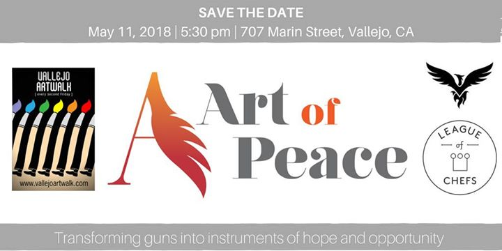 art of peace unveiling ceremony at art walk vallejo