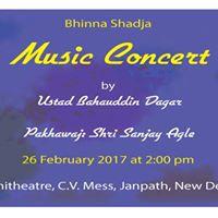 Music Concert by Ustad Bahauddin Dagar