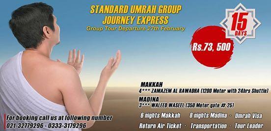 Standard Umrah Group