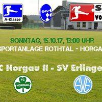 FC Horgau II - SV Erlingen (12.Spieltag A-Klasse NW)