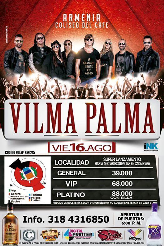 Vilma Palma en Armenia 2019