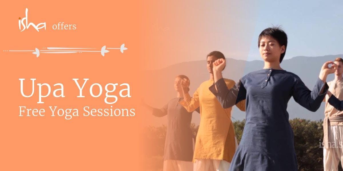 Upa Yoga - Free Session at Birmingham