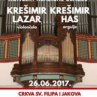 Koncert klasine glazbe u kapelici sv. Roka