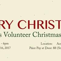 Across Volunteer Christmas Party 2017