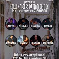 HARDCORE UNITED  EARLY GABBERS DJ TEAM EDITION