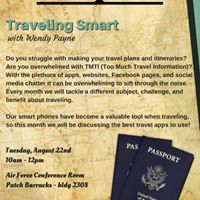 USO Discover Germany Traveling Smart with Wendy Payne