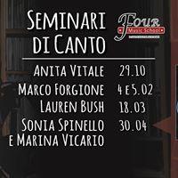 Seminario Meditazione e Voce - Sonia Spinello e Marina Vicario